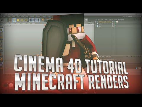 [TUTORIAL] How To Make Minecraft Renders - Cinema 4D