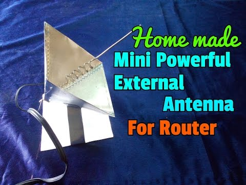How To Make WiFi Antenna At Home And Boost WiFi Signal...Simple Process..Easy Way..