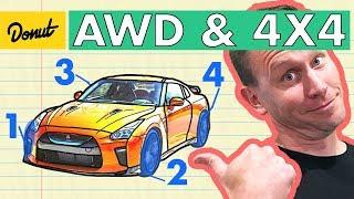 AWD VS 4x4   How it Works   Donut Media