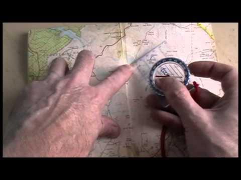 TAKING A MAP GRID BEARING
