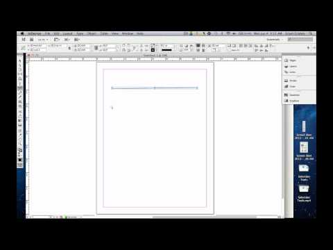 How to use the Line Tool in Adobe™ InDesign™