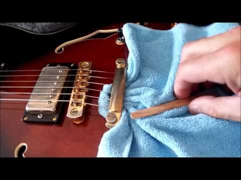 CLEANING DUST UNDER YOUR STRINGS