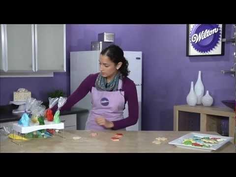 Color Flow Technique for Cookies