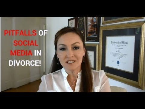How to Avoid the Pitfalls of Social Media in Divorce!  Rebecca Zung, Esq.