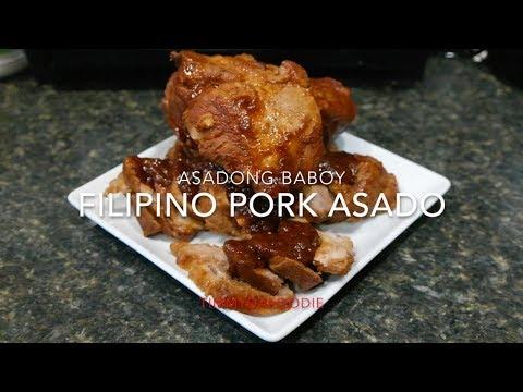 Filipino Pork Asado / Asadong Baboy