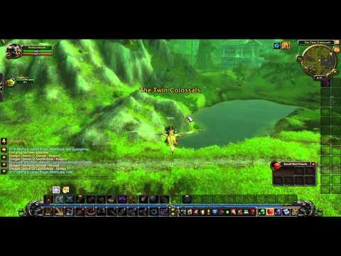 WoW MoP 5.1 Flying Through Mountain *GLITCH*