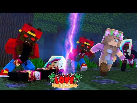 Minecraft LOVE ISLAND - WEREWOLF ROPO GETS A NEW WEREWOLF GIRLFRIEND!!!