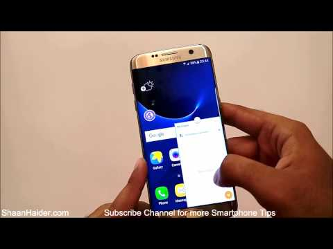 How to Use Floating Windows on Samsung Galaxy S7, S7 Edge for Multitasking and Better Productivity