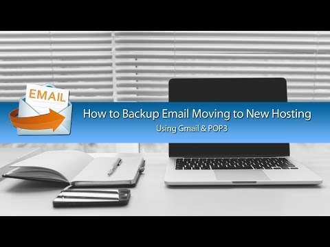 How to Move Backup Email From Hosting Using POP Settings with Gmail
