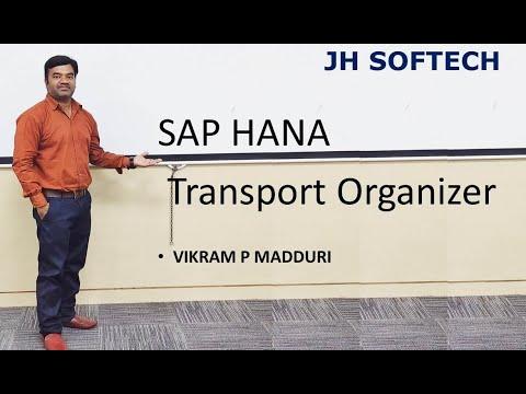 SAP HANA Transport Organizer