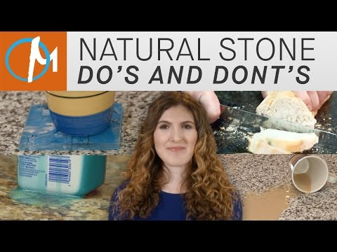 Granite, Marble, & Other Natural Stone Do's and Don'ts | Marble.com
