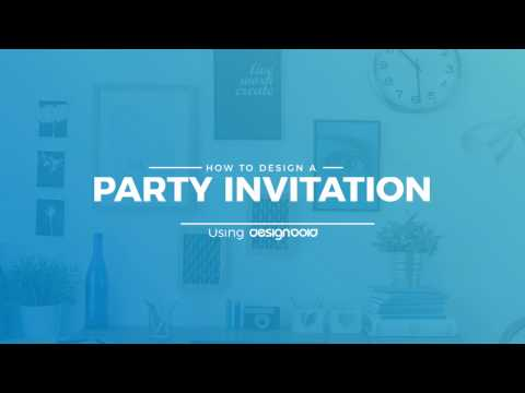 How to Design Party Invitations Online Using DesignBold