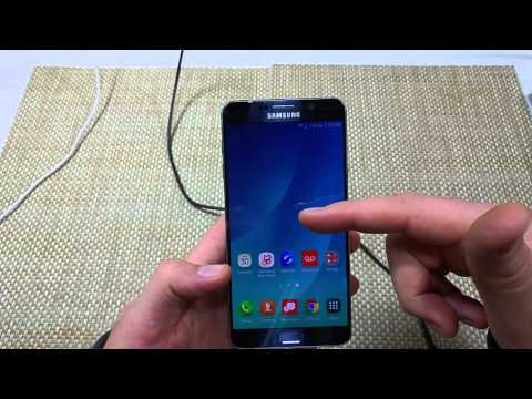 Samsung Galaxy Note 5 How to change your Home Screen