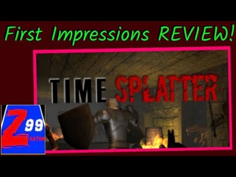 Time Splatter - First Impressions REVIEW! - Is This 99 Cent Rail Shooter Any Fun?
