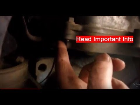 Transmission Fluid Level Check Pontiac G6 (3.5 engine)