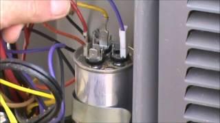 Hvac Training Dual Capacitor Checkout