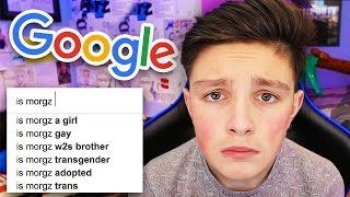 Is Morgz Transgender?.. (Googling Myself)