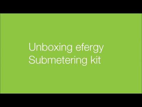 Unboxing efergy's Submetering kit
