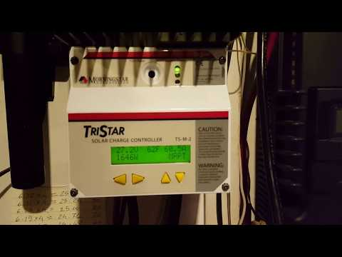 The 3/10 Cable Made A Huge Difference On Charging The Trojan Battery Bank.