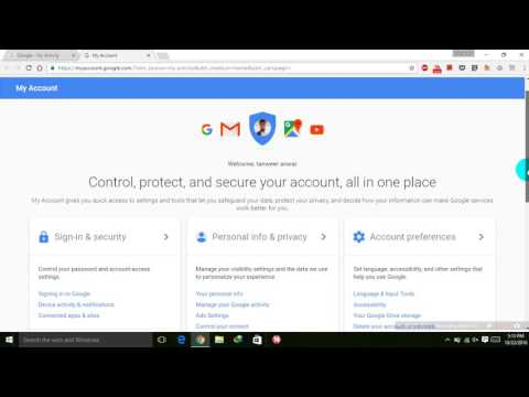 Google search history and other activity how to download