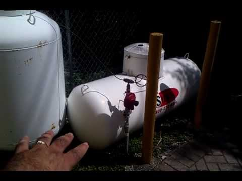 LP Propane Tank Explained. Exterior Setup with Regulator