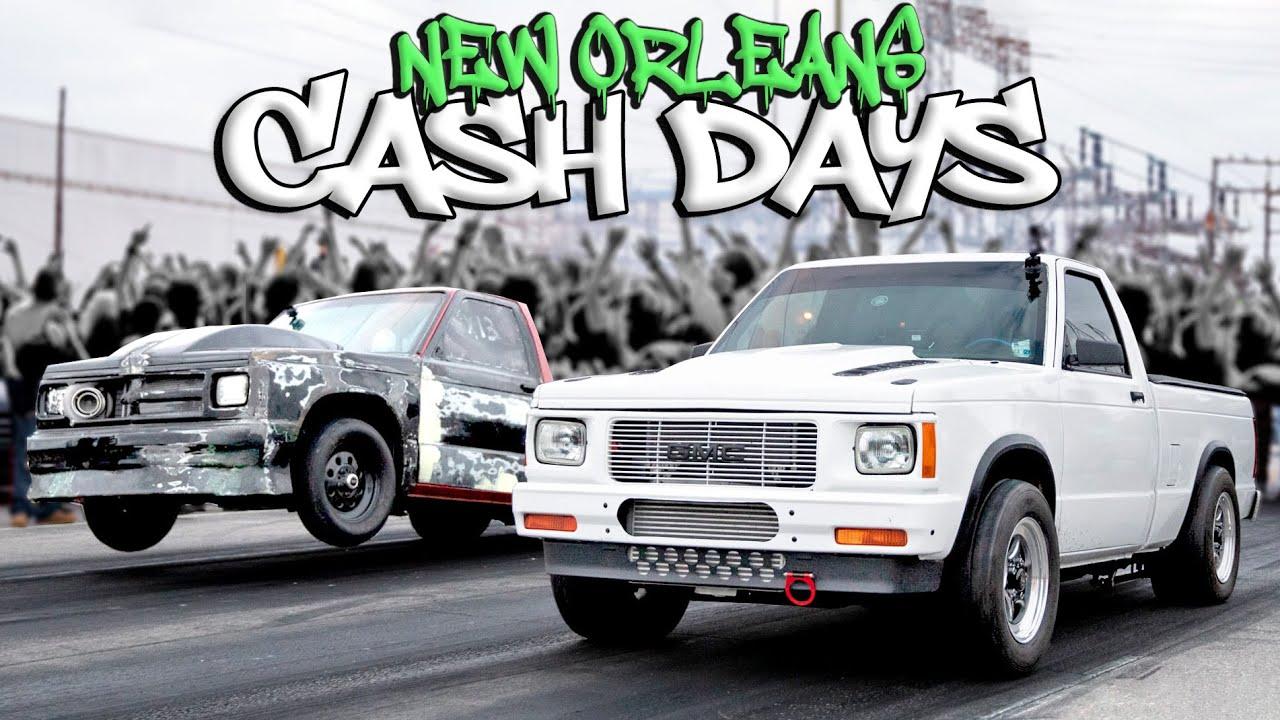 New Orleans Street Racing - WILD NOLA Cash Days!