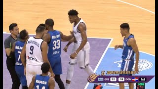 Giannis Antetokounmpo Highlights vs Dominican Rep | August 26, 2019 | Greece vs Dominican Rep