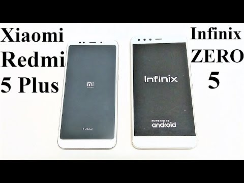 Xiaomi Redmi 5 Plus / Redmi Note 5 vs Infinix Zero 5 - SPEED TEST