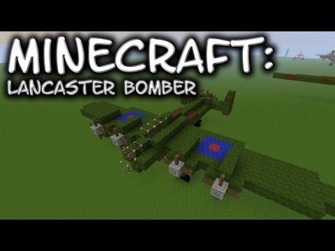 Minecraft: Lancaster Bomber Tutorial