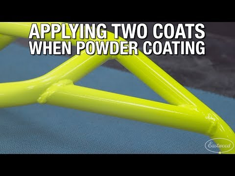 How to Apply Two Coats When Powder Coating - Motorcycle Stunt Cage Powder Coating - Eastwood