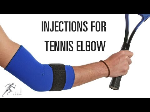 Injections for tennis elbow