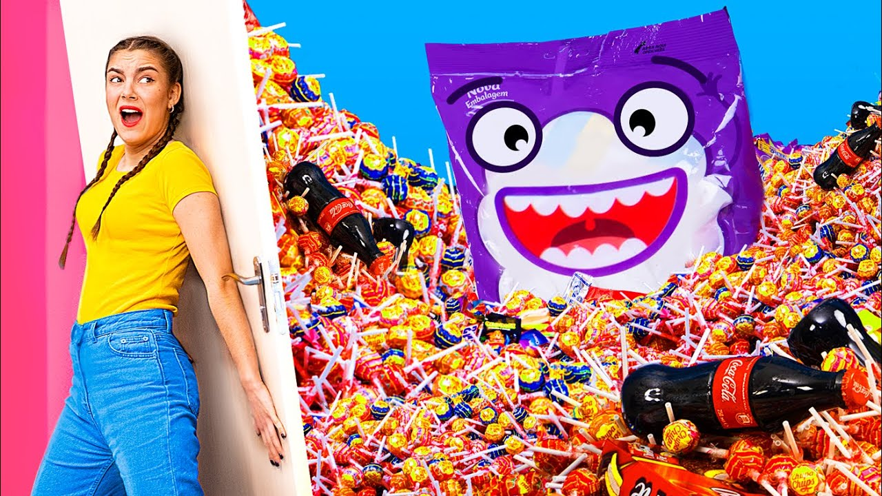 What if Candy Took Over the World/ 13 Funny and Awkward Moments