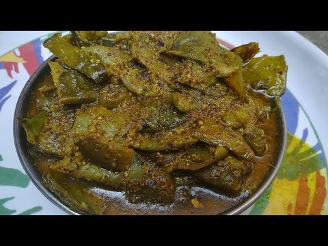 Flat Green Beans Recipe | Beans Ki Sabji | Spicy Flat Beans Recipe