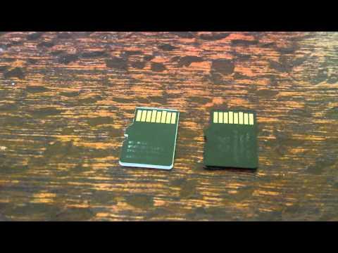 Fake Samsung Evo 64gb Micro SD card versus genuine