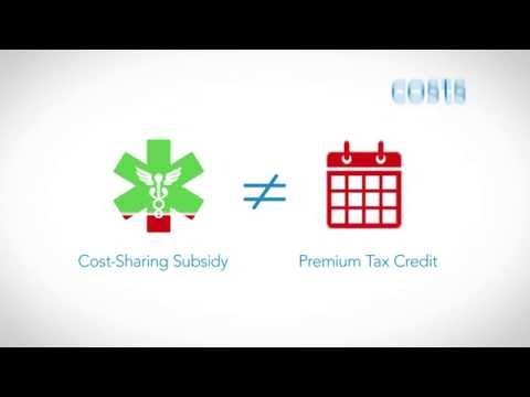 What is the Affordable Care Act Cost-Sharing Subsidy (Obamacare)? -- TurboTax Tax Tip Video