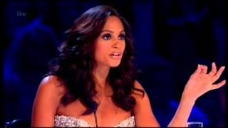 Amanda's boob popped out Britains got Talent Wardrobe Malfunctions.:Sat 9 June 2013 HQ
