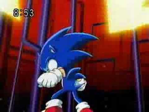 Sonic versus Shadow battle of the hedgehogs