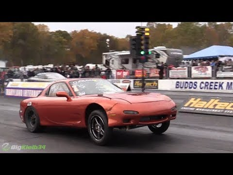 THIS RX-7 Has the Most VIOLENT LAUNCHES EVER