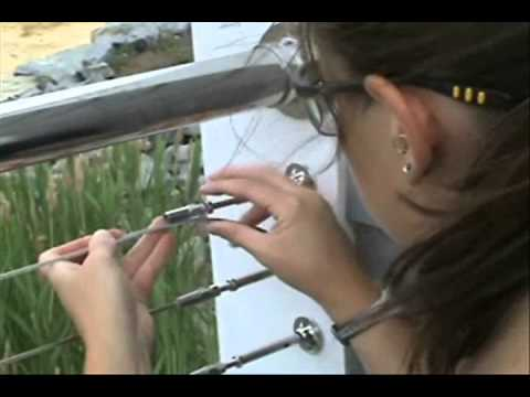 Cable Railing in 3 Easy Steps!