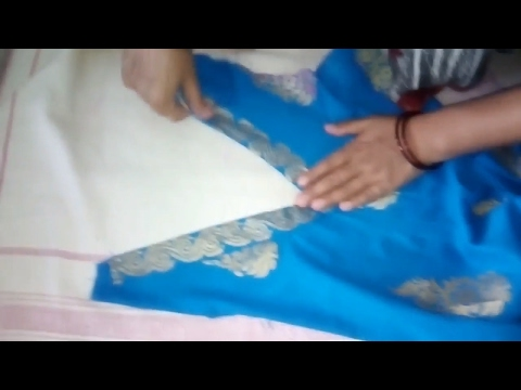 How to Make V-Shaped Neckline in Front Part of Kurti   in Hindi at Home   Easy & Simple Method