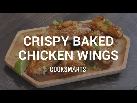 How to Make Crispy Baked Chicken Wings | Healthy Dinner Recipes by Cook Smarts