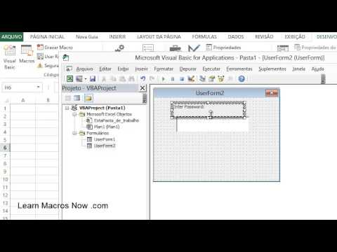 Excel Invisible and Userform show - Learn Macros for Excel