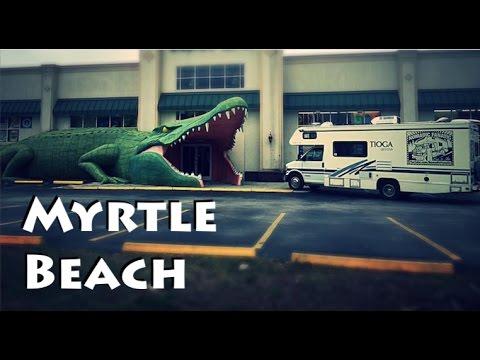 Myrtle Beach in South Carolina & Roadside Monsters