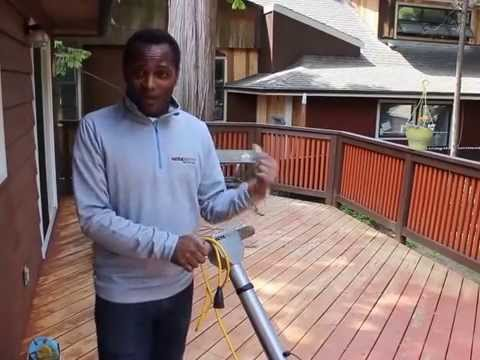 WerkMaster SandPaperless Wood Deck Paint & Stain Removal System
