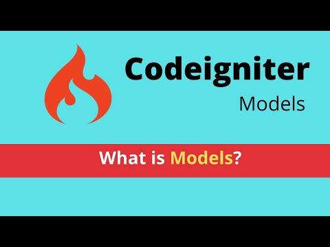 Models in Codeigniter