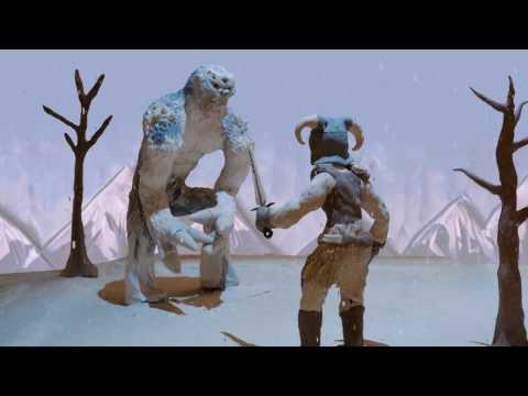 SKYRIM MEMORIES in Claymation