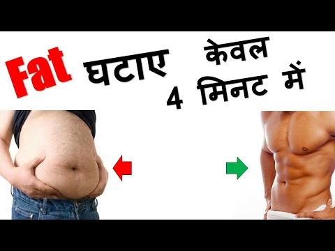 Fat Burning Workout Without GYM ( 4 Minutes ) | Montu Mourya