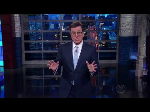 Stephen colbert on Trump phone transcripts with Mexico and Australia