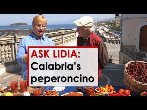 Ask Lidia: Peperoncino in Calabria
