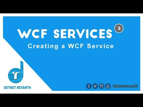 Creating a WCF service || Part-3